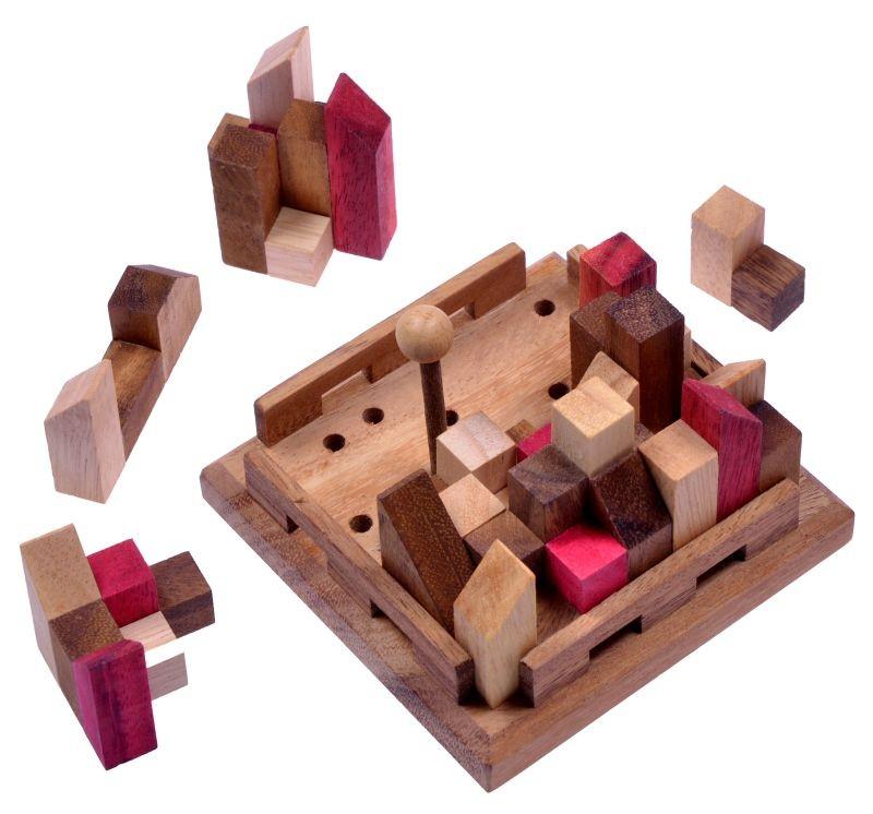 Holz Denkspiel