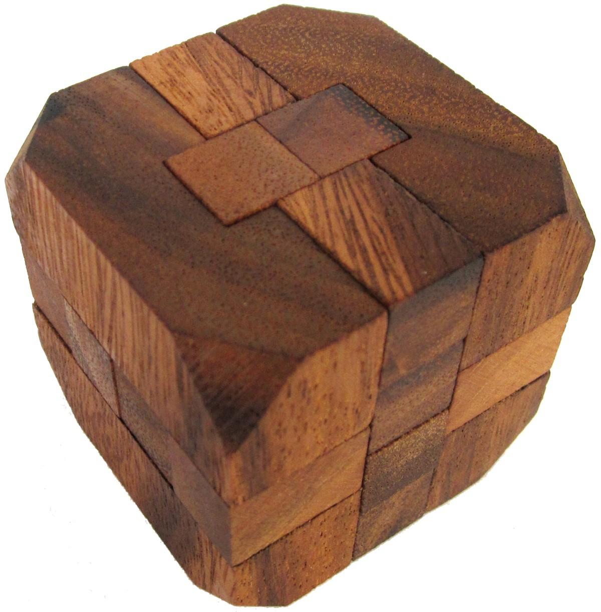 diamant g171 3d puzzle denkspiel knobelspiel geduldspiel aus holz spiele f r 1 spieler. Black Bedroom Furniture Sets. Home Design Ideas
