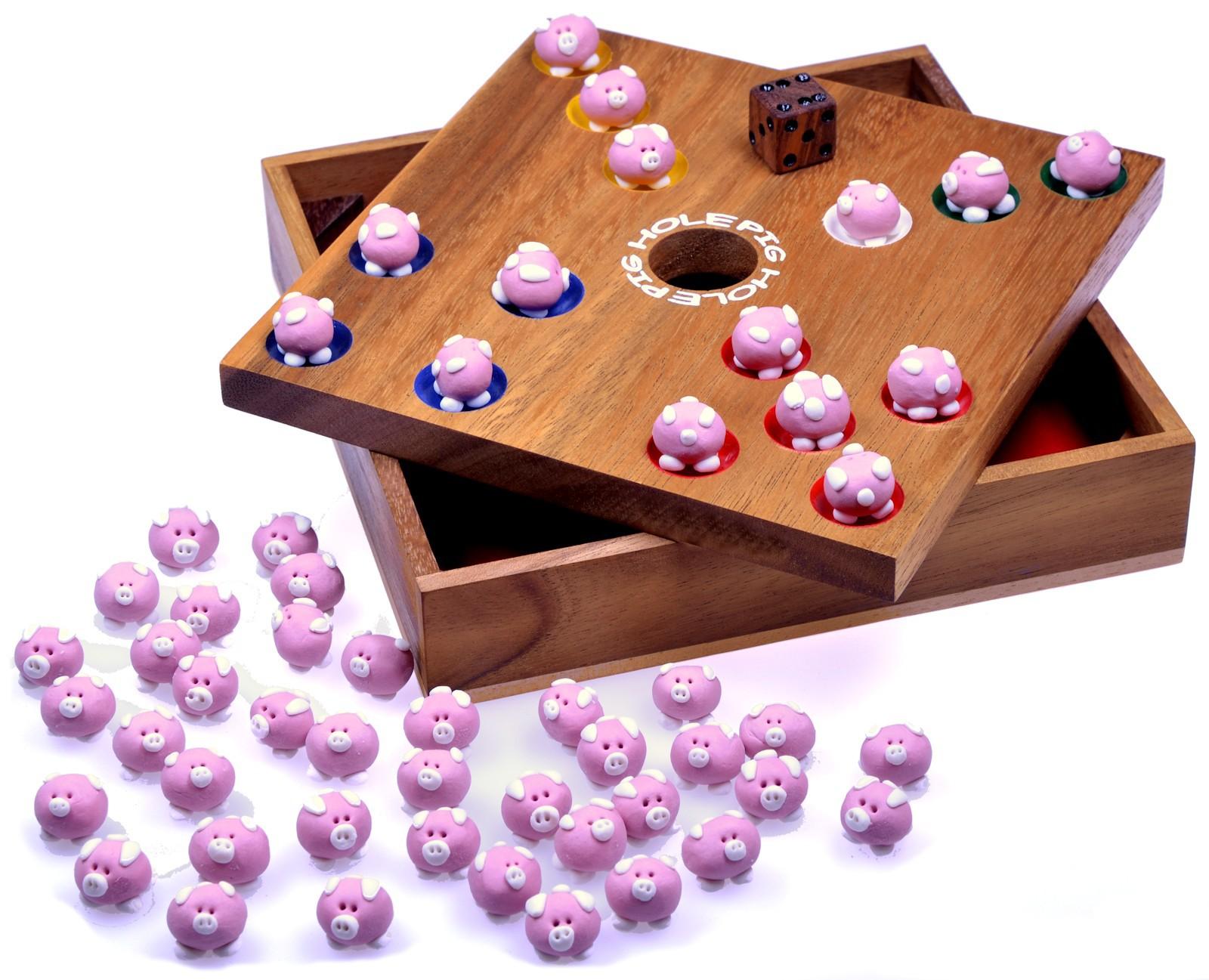 pig hole spiel