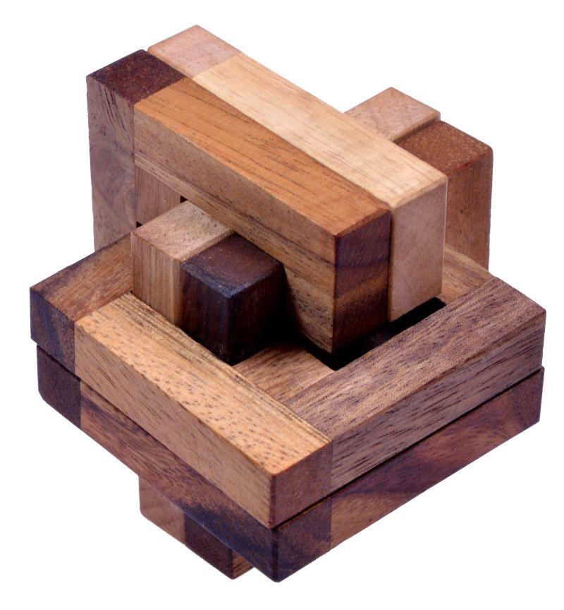 jam 3d puzzle denkspiel knobelspiel knoten aus edlem holz spiele f r 1 spieler. Black Bedroom Furniture Sets. Home Design Ideas